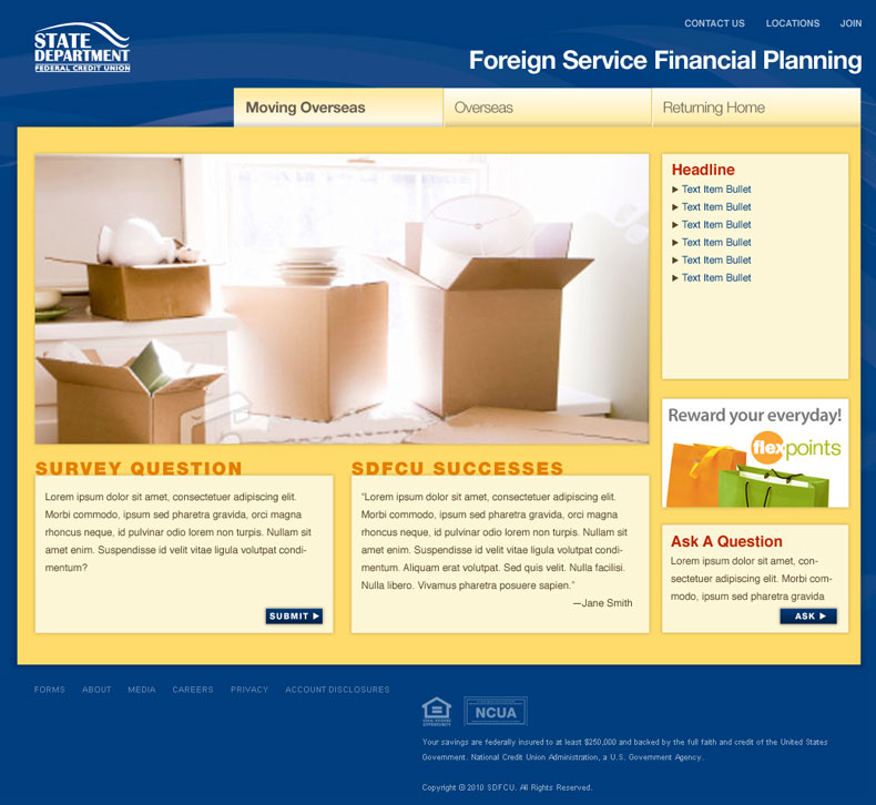 Foreign Service site